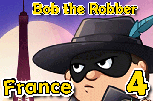 Bob the Robber is trying to rob France now at Games-pbb.com