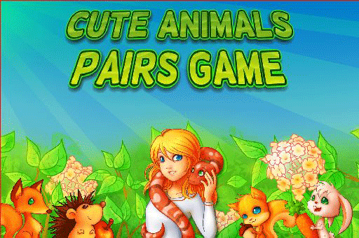 A classic memory match game with cute animals at games pbb.com