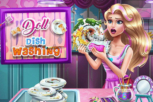 Learn to wash and design dishes in this girls game at games pbb.com