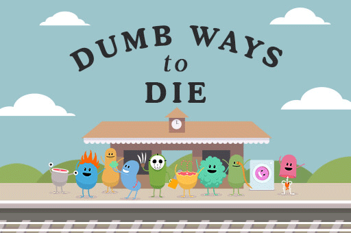 the original dumb ways to die game