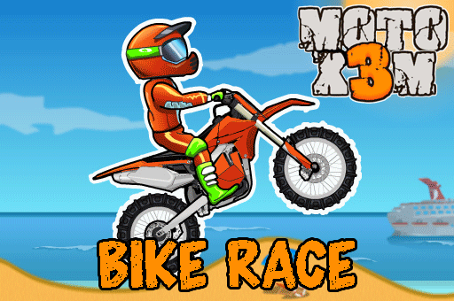 Moto XM Bike Race is an awesome racing game at games pbb.com