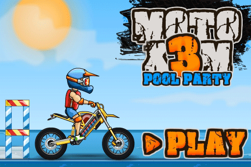 Moto X3M is the hottest bike race series at games pbb.com