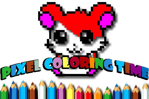 Relax as you color this fun images at games pbb.com